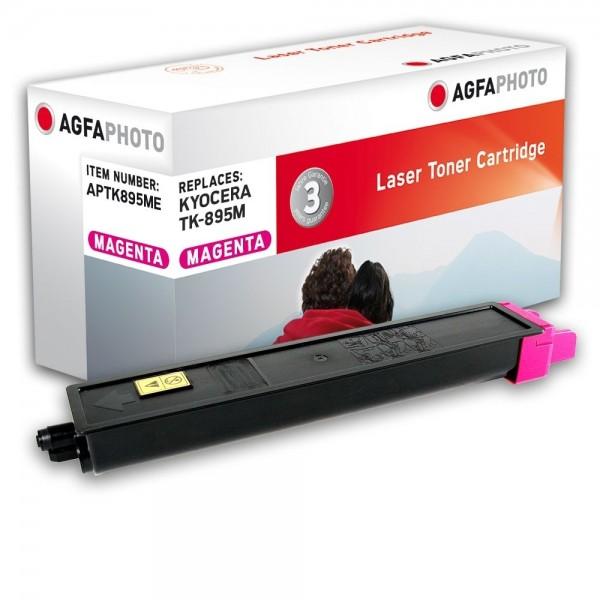 AGFA Photo Toner magenta TK-895ME für Kyocera FS-C8020 FS-8025