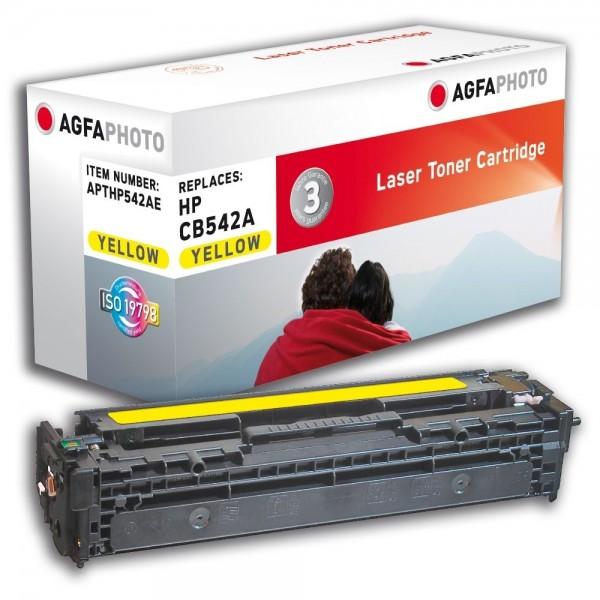 AGFA Photo Toner gelb HP542AE für HP Color LaserJet CM1300 Series