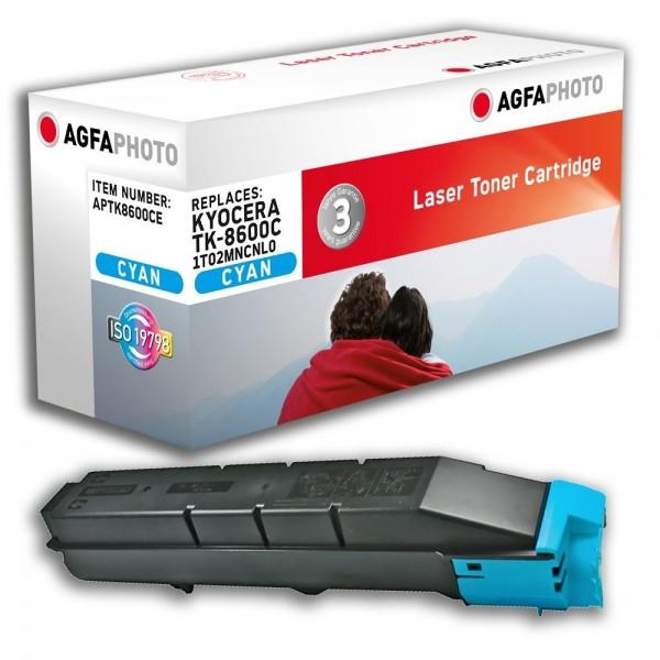 AGFA Photo Toner cyan TK-8600CE für Kyocera FS-C8600 FS-C8650