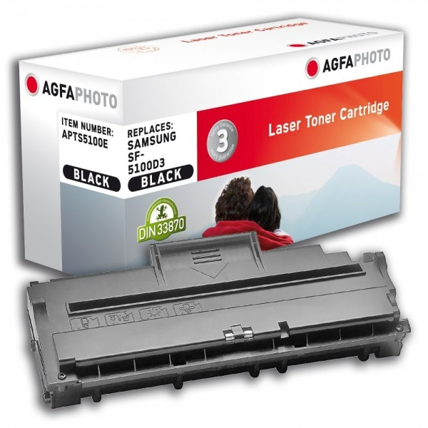 AGFA Photo Toner schwarz 5100E für Samsung SF-515 SF-5100
