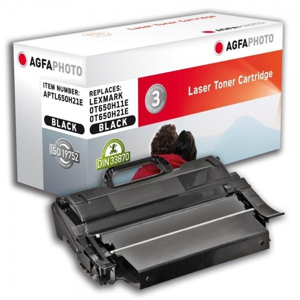 AGFA Photo Toner schwarz 650H21E für Lexmark T650 T652 T654 T656