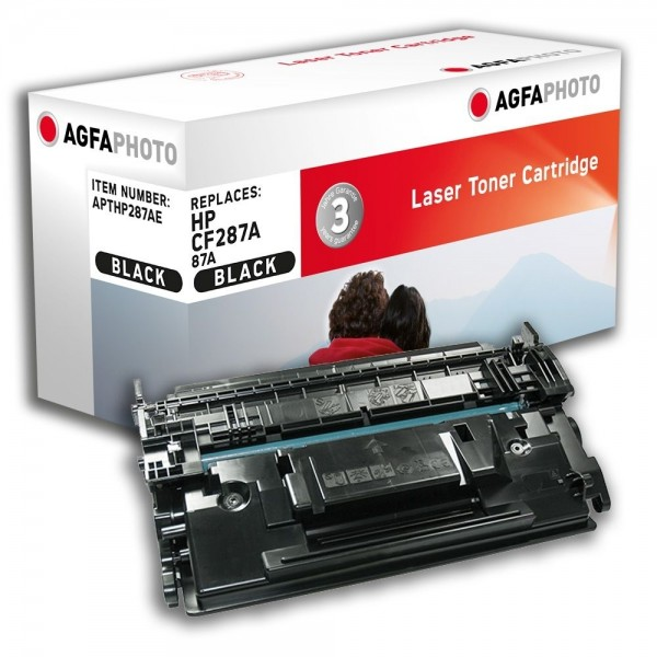 AGFA Photo Toner schwarz HP287AE für HP LaserJet Enterprise Flow MFP M527 C