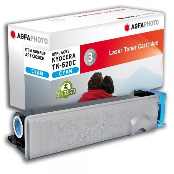 AGFA Photo Toner cyan TK-520CE für Kyocera FS-C5015N