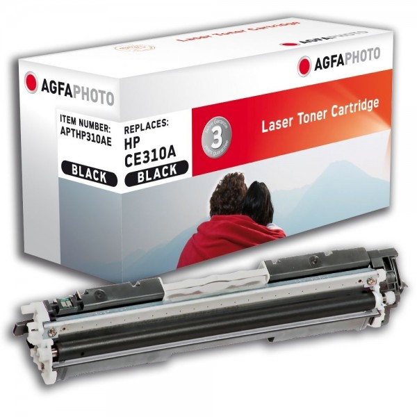 AGFA Photo Toner schwarz HP310AE für HP Color LaserJet PRO CP1000 Series