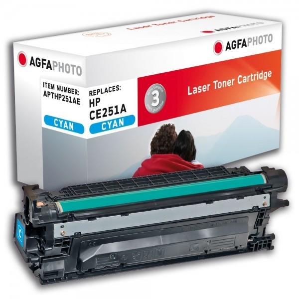 AGFA Photo Toner cyan HP251AE für HP LaserJet CM3500 Series