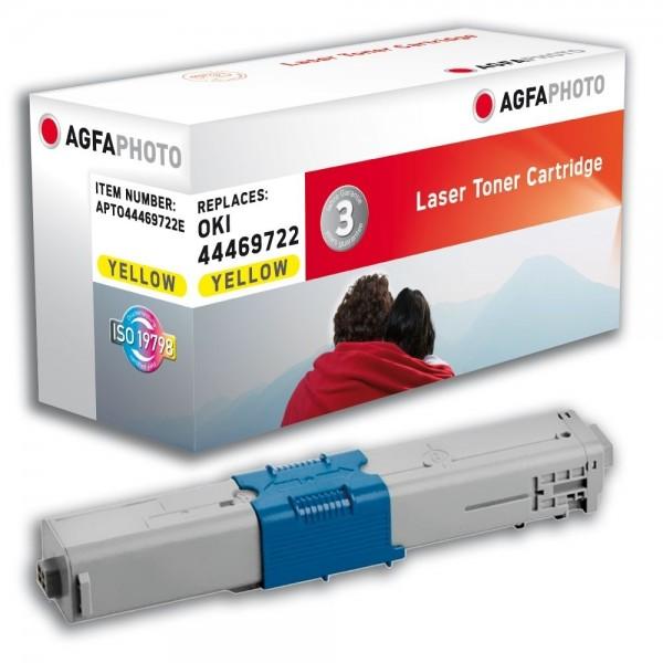 AGFA Photo Toner gelb 44469722E für OKI C510 C511