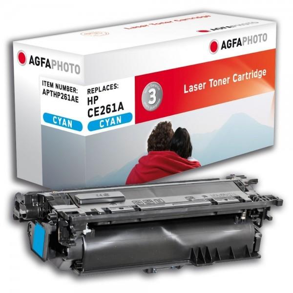 AGFA Photo Toner cyan HP261AE für HP Color LaserJet CP4500 Series