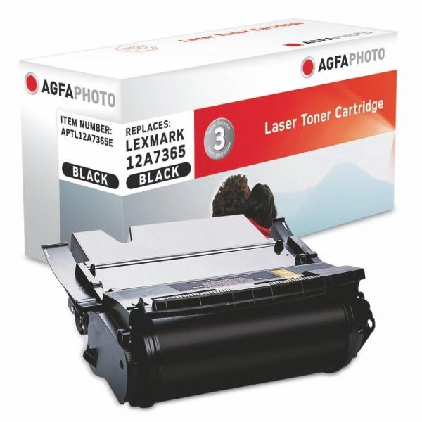 AGFA Photo Toner schwarz 12A7365E für Lexmark T632 T634