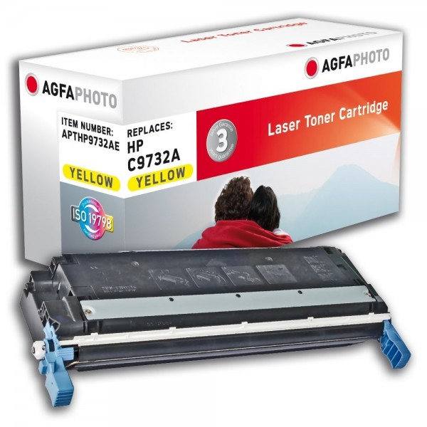 AGFA Photo Toner gelb HP9732AE für HP Color LaserJet 5500 Series