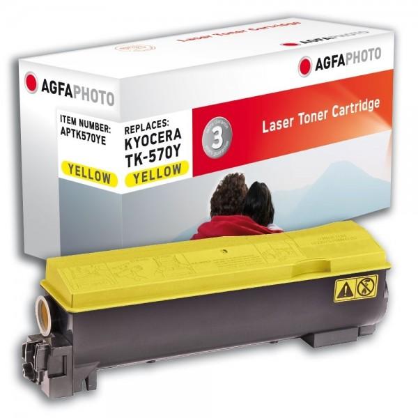 AGFA Photo Toner gelb TK-570YE für Kyocera FS-C5400DN