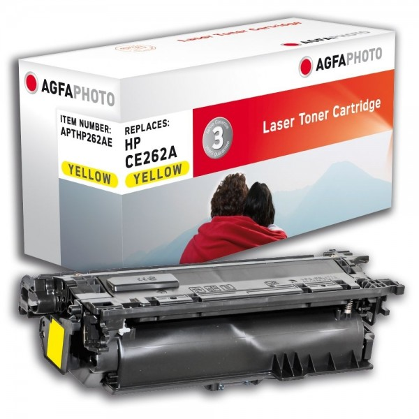 AGFA Photo Toner gelb HP262AE für HP Color LaserJet CP4500 Series