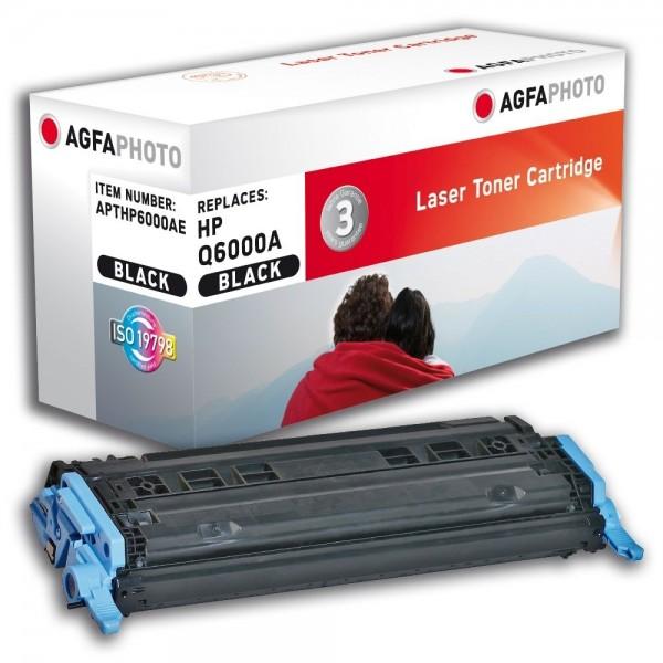 AGFA Photo Toner schwarz HP6000AE für HP Color LaserJet 2600 Series