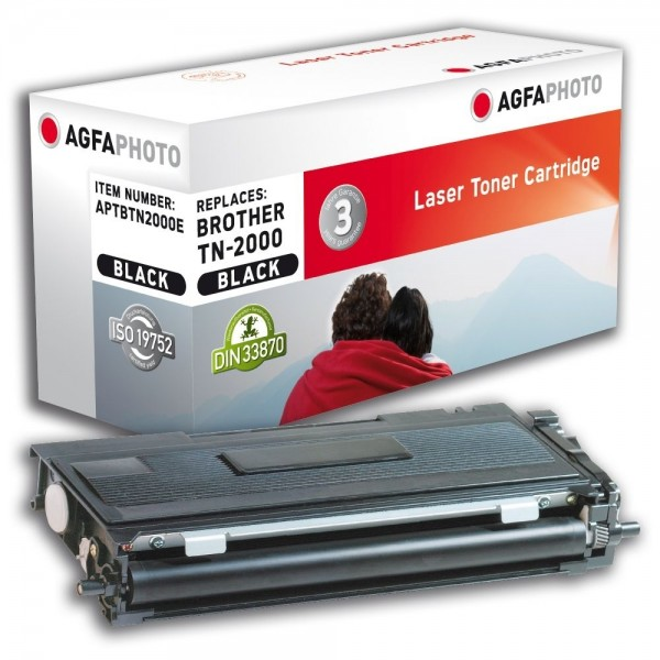 AGFA Photo Toner schwarz TN-2000E für Brother HL-2030