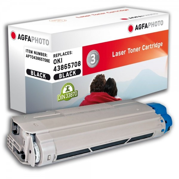 AGFA Photo Toner schwarz 43865708E für OKI Data C5650 C5750