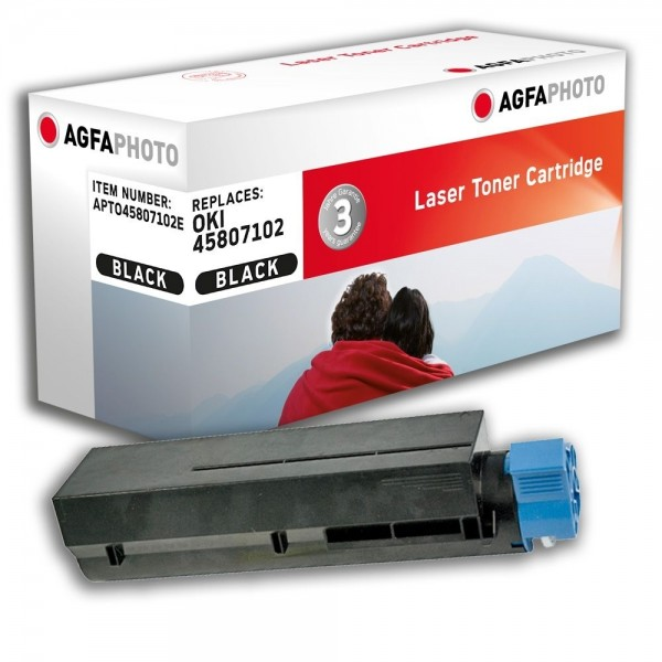 AGFA Photo Toner schwarz 45807102E für Oki B412 B432 B512