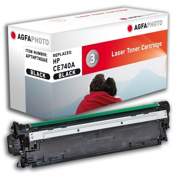 AGFA Photo Toner schwarz HP740AE für HP Color LaserJet CP5200 Series