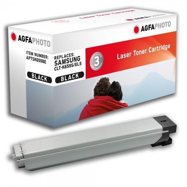AGFA Photo Toner schwarz K659BE für Samsung CLX-8640 MultiXpress C8640