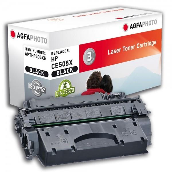 AGFA Photo Toner schwarz HP505XE für HP LaserJet P2030 LaserJet P 2050
