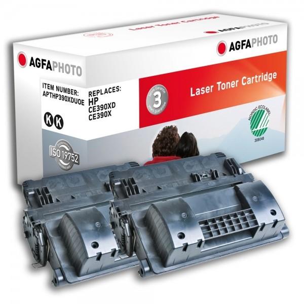 AGFA Photo Toner schwarz HP390XDUOE HP LaserJet Enterprise 600 M601 M602 M603 M4555
