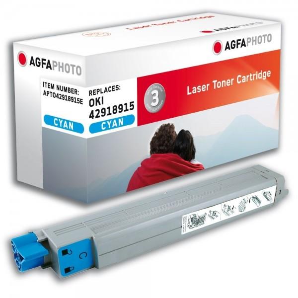 AGFA Photo Toner cyan 42918915E für OKI C9600 C9800