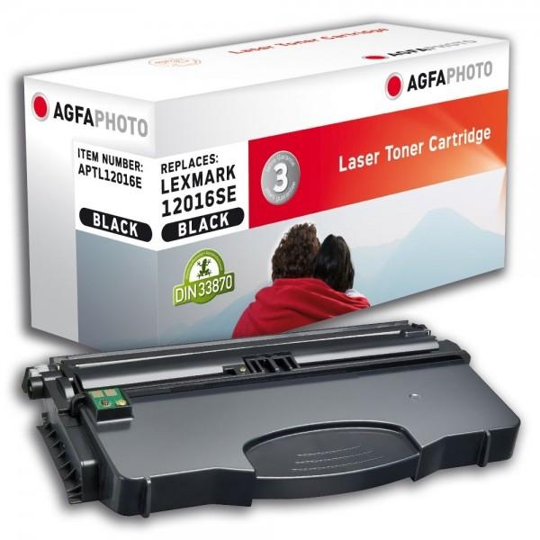 AGFA Photo Toner schwarz 12016E für Lexmark E120