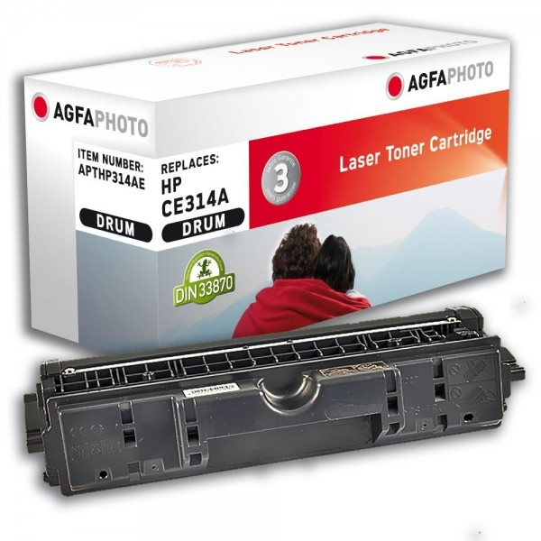 AGFA Photo Bildtrommel schwarz HP314AE für HP Color LaserJet PRO CP 1000 Series