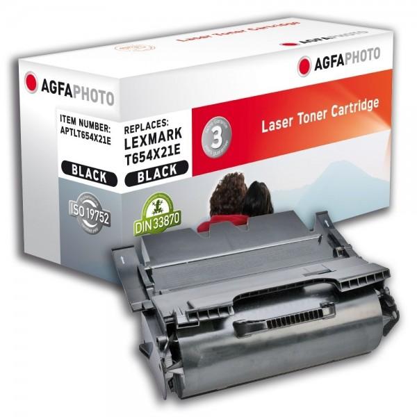 AGFA Photo Toner schwarz T654X21E für Lexmark T654 T656