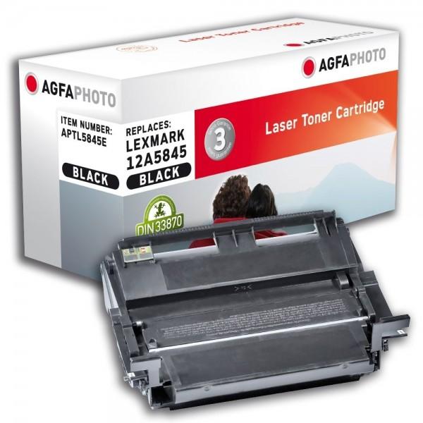 AGFA Photo Toner schwarz 5845E für Lexmark Optra T610 T612