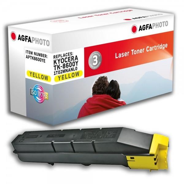 AGFA Photo Toner gelb TK-8600YE für Kyocera FS-C8600 FS-C8650
