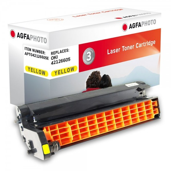 AGFA Photo Bildtrommel gelb 42126605E OKI C5100 C5200 C5300 C5400