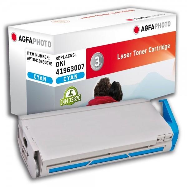 AGFA Photo Toner cyan 41963007E für OKI C7100 C7200 C7300