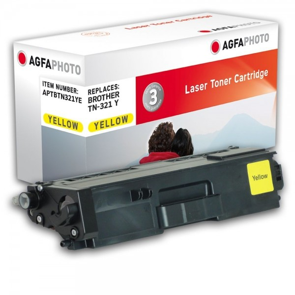 AGFA Photo Toner gelb TN-321YE Brother HL-L8250