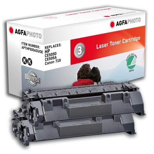 AGFA Photo Toner schwarz HP505ADUOE für HP LaserJet P2030 LaserJet P 2050