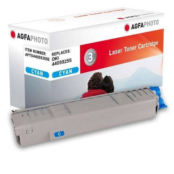 AGFA Photo Toner cyan 44059255E für OKI MC861 MC862