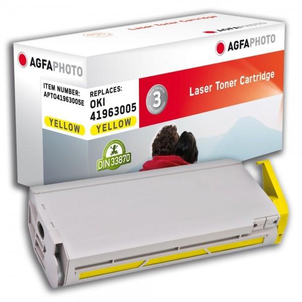 AGFA Photo Toner gelb 41963005E für OKI C7100 C7200 C7300