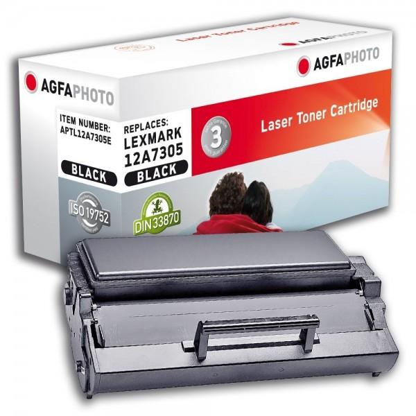 AGFA Photo Toner schwarz 12A7305E für Lexmark E321 E323
