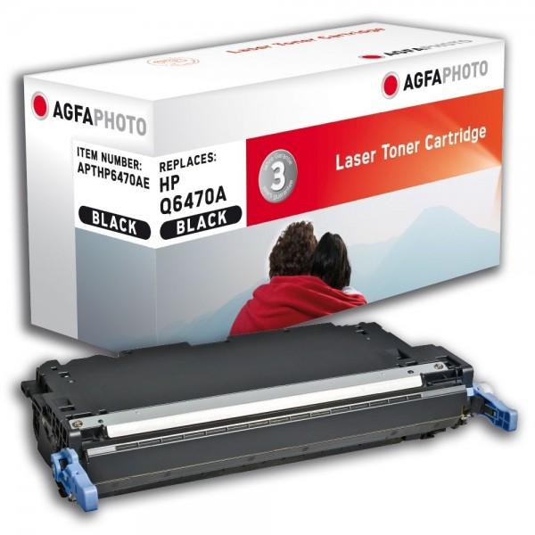 AGFA Photo Toner schwarz HP6470AE für HP Color LaserJet 3600 Series