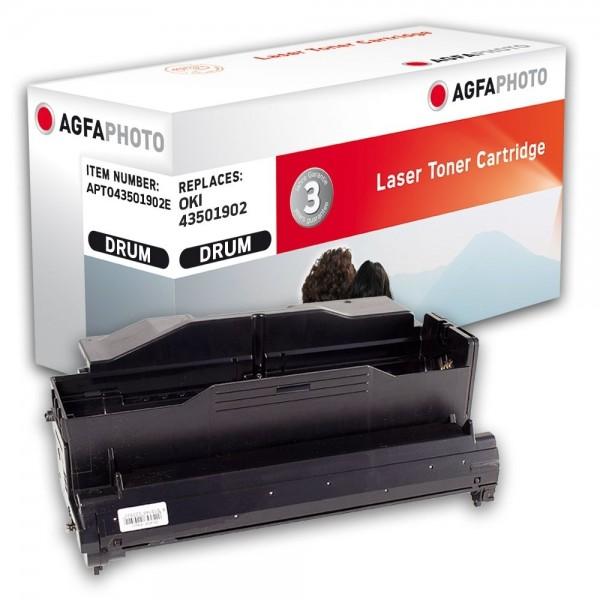 AGFA Photo Bildtrommeleinheit schwarz 43501902E für OKI B4400 B4600