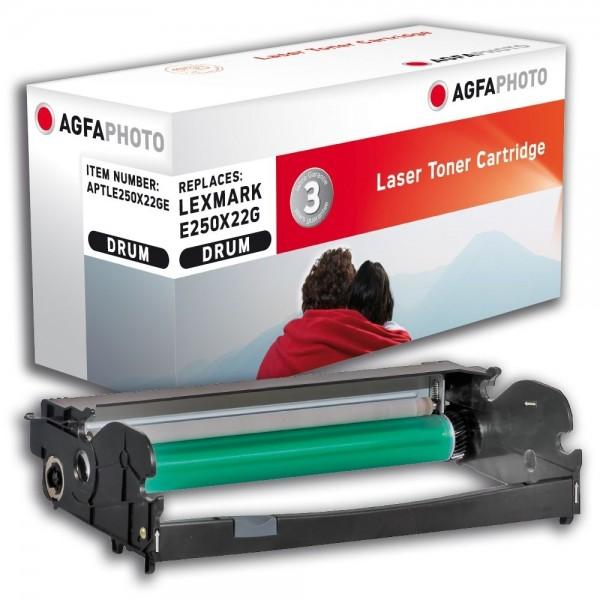 AGFA Photo Fotoleitereinheit Schwarz E250X22GE Lexmark E250 E350 E352 E450
