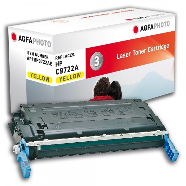 AGFA Photo Toner gelb HP9722AE für HP Color LaserJet 4600