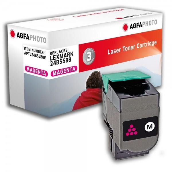 AGFA Photo Toner magenta 24B5588E für Lexmark XS544 XS548