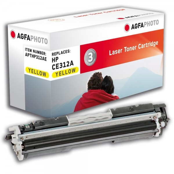AGFA Photo Toner gelb HP312AE für HP Color LaserJet PRO CP1000 Series