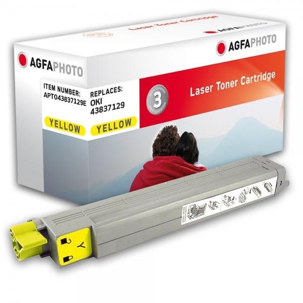 AGFA Photo Toner gelb 43837129E für OKI C9655