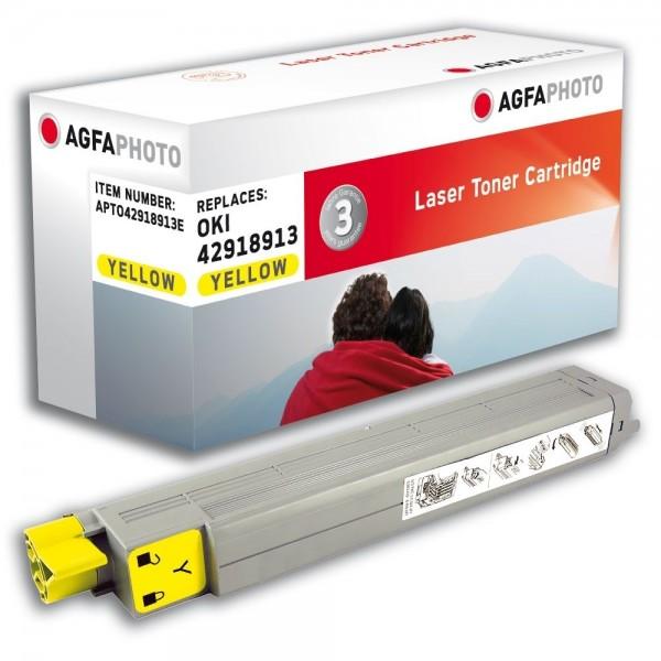 AGFA Photo Toner gelb 42918913E für OKI C9600 C9800