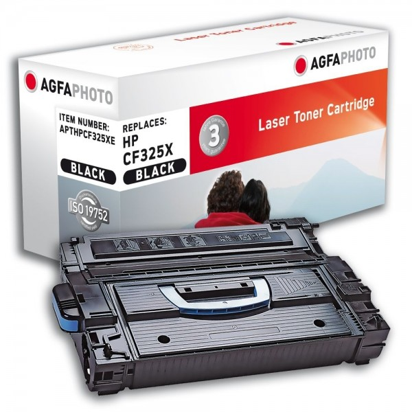AGFA Photo Toner schwarz HP25X Schwarz HPCF325XE HP LJ Enterprise M806 MFP M830z