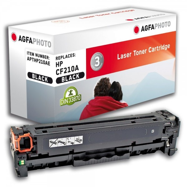 AGFA Photo Toner schwarz HP210AE für HP LaserJet PRO 200 Color M251N