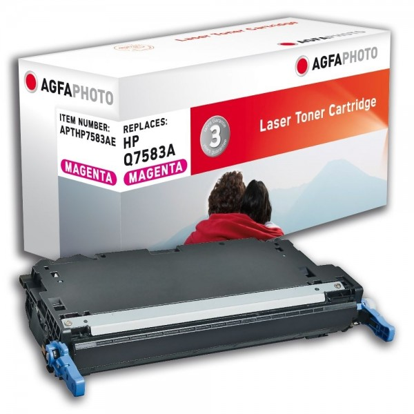 AGFA Photo Toner magenta HP7583AE für HP Color LaserJet 3800 Series