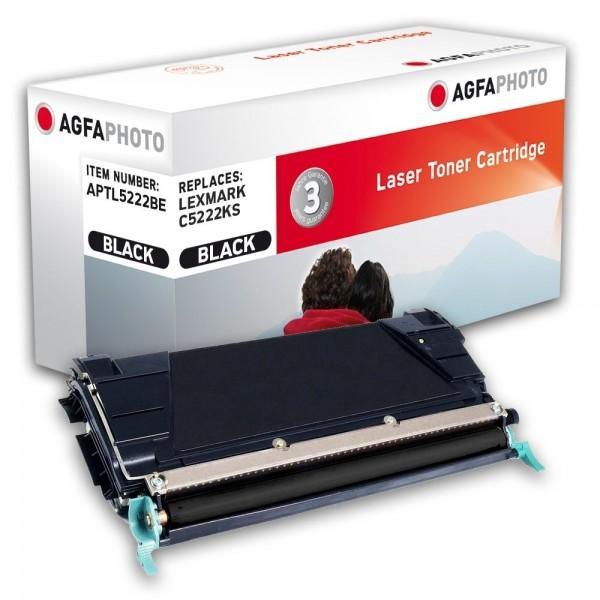 AGFA Photo Toner schwarz 5222BE für Lexmark C522 C524 C532 C534