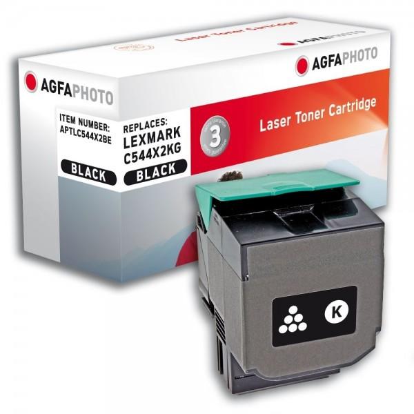 AGFA Photo Toner schwarz C544X2BE für Lexmark C544 C546