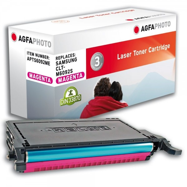 AGFA Photo Toner magenta 6092ME für Samsung CLP-770 CLP-775